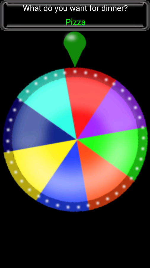 Spin The Wheel!!!- screenshot