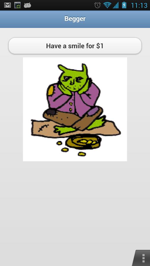 Beggar- screenshot