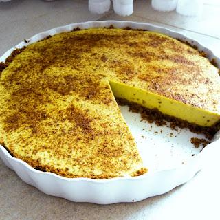 Creamy Banana Custard Tart.