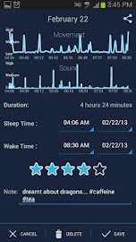 SleepBot - Sleep Cycle Alarm Screenshot 3