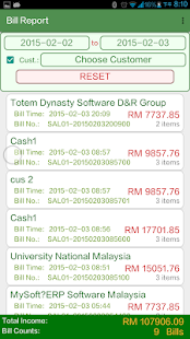 TD Mobile POS - Malaysia GST - náhled