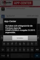 Screenshot of COMPUTERBILD App-Center