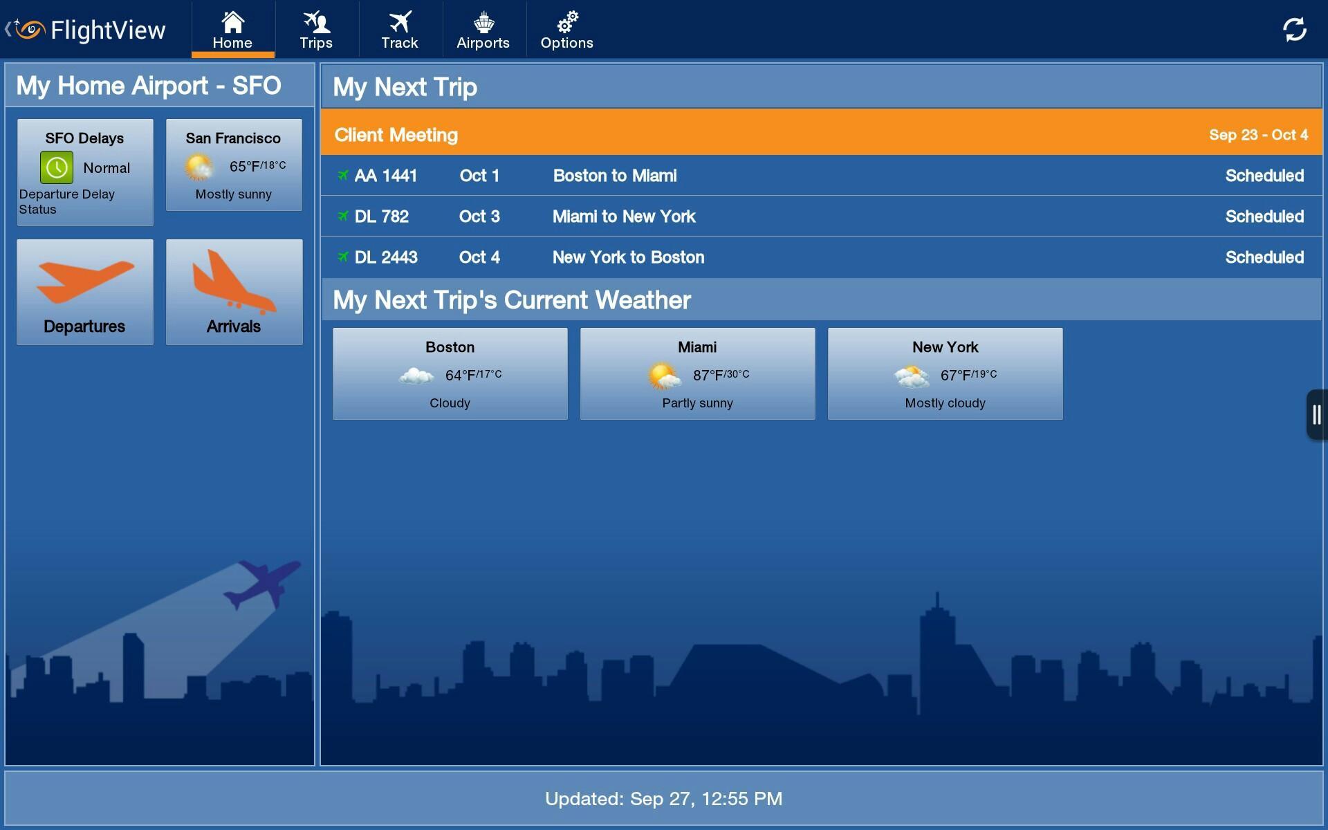 FlightView Elite FlightTracker screenshot #10