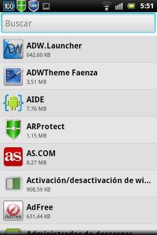 Bluetooth App Sender- screenshot