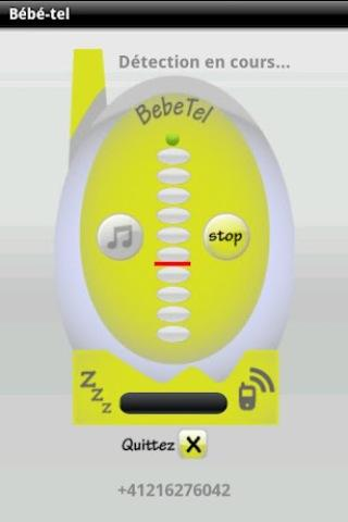 BebeTel - Babyphone - free - screenshot