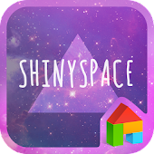 Shinyspace LINE Launcher theme
