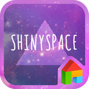 Shinyspace LINE Launcher theme for PC