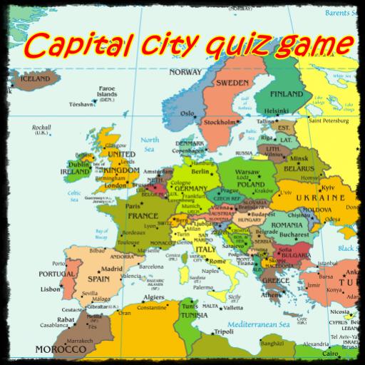 Capital city quiz game