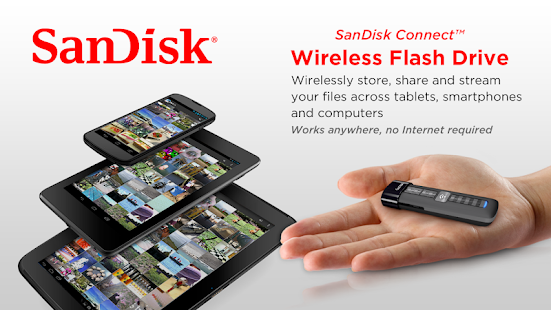 SanDisk Wireless Flash Drive - screenshot thumbnail