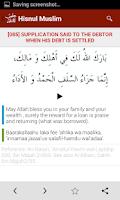Screenshot of Hisnul Muslim | حصن المسلم