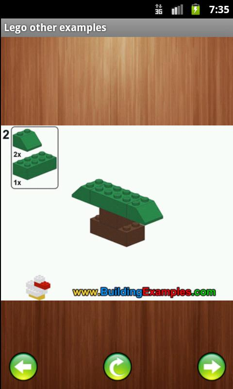 Lego variety of examples - screenshot