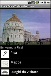 Pisa Guida Turistica by Losna - screenshot thumbnail