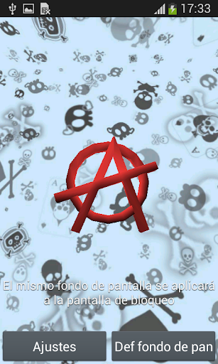 Anarquia 3D Live Wallpaper