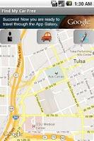 Screenshot of Find My Car Free