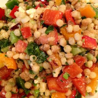 Israeli Couscous Salad.