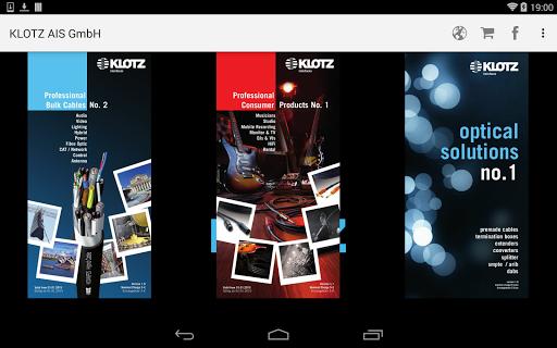 KLOTZ AIS Katalog App