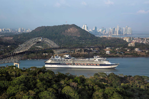 Celebrity_Equinox_Panama_Canal - Cruising through the Panama Canal is one of the most spectacular experiences you will have while on Celebrity Equinox.
