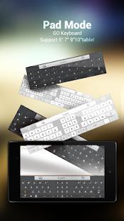 GO Keyboard Lite + Emoji - screenshot thumbnail