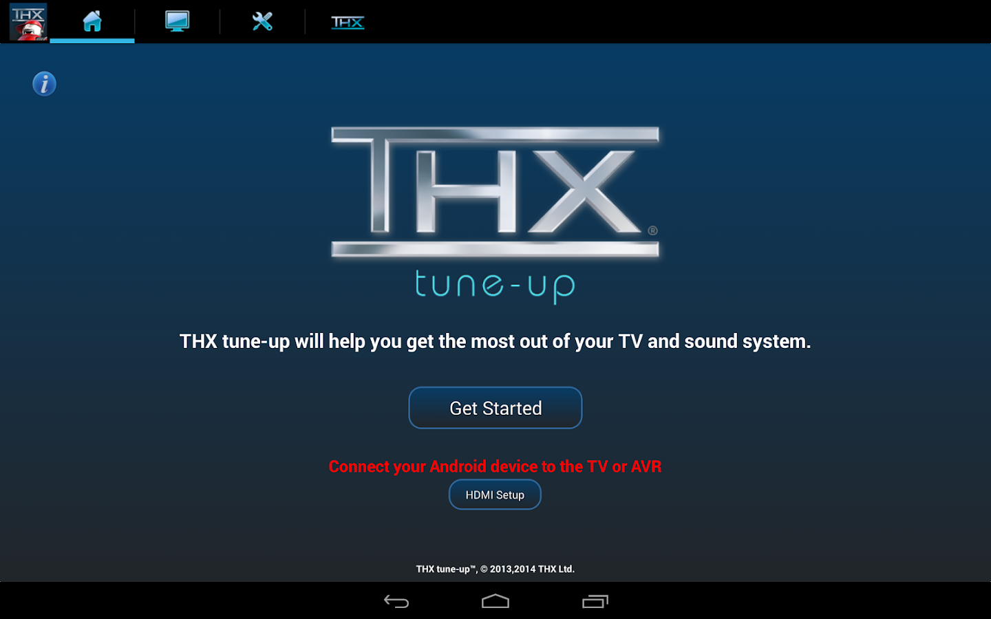 THX tune-up - screenshot