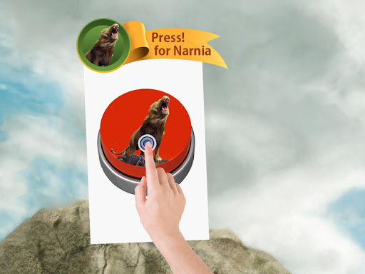 For Narnia Button