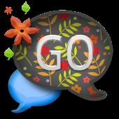 GO SMS THEME/SpringFlwerCPK2