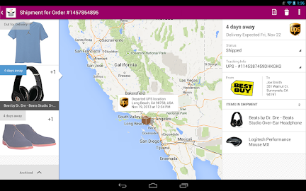 Slice: Package Tracker Screenshot 20