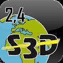 ACT S3D GPS logo