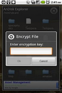 AnDisk Encryption - screenshot thumbnail