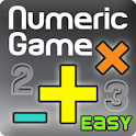 Numeric Game Easy (BrainGame) logo