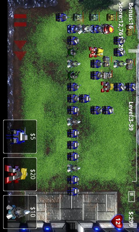 Robo Defense FREE- screenshot