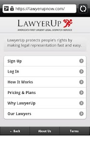 LawyerUp- screenshot thumbnail