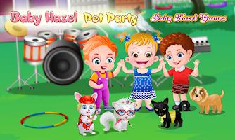 Screenshot of Baby Hazel Pet Party