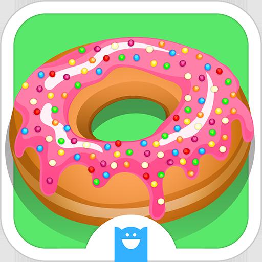 甜甜圈製作工具 豪華版 - 烹飪大賽 休閒 App LOGO-APP試玩