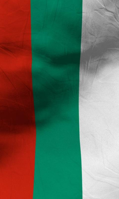 Bulgaria flag lwp Free- screenshot