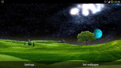 Green Hills Live Wallpaper