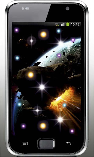Space Magic HD live wallpaper