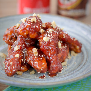 Korean Fried Chicken (spicy version)
