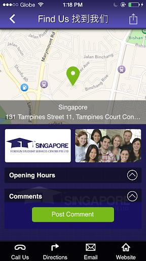 玩商業App S'pore Foreign Student Service免費 APP試玩