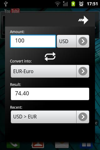 ExRate - Currency Converter- screenshot