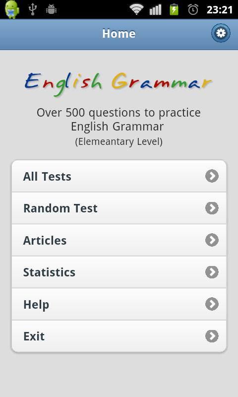 Practice English Grammar - 2 - screenshot