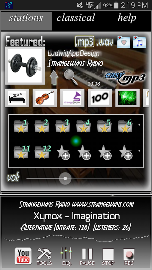 Internet Radio Recorder Pro - screenshot
