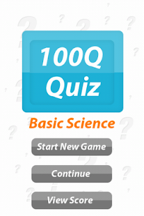 Basic Sciences - 100Q Quiz - screenshot thumbnail