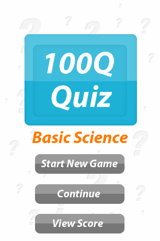 Basic Sciences - 100Q Quiz - screenshot