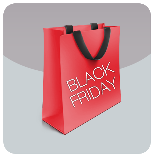 Black Friday(DotDeals) LOGO-APP點子