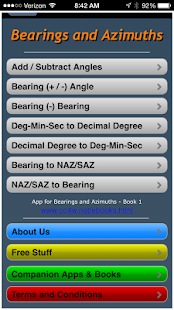 Bearings and Azimuths- screenshot thumbnail