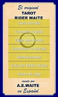 Tarot Rider Waite Español