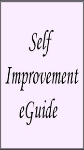 Self Improvement eGuide - screenshot thumbnail