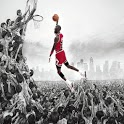 Michael Jordan Golocker  Theme icon