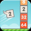 Flappy 2048 - Endless Combat icon
