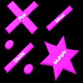 Basic Calculator (Pink)